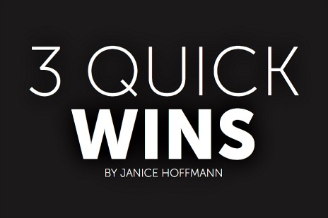 3Quickwins 2015-01-01 at 9.06.39 AM